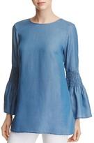 MICHAEL Michael Kors Chambray Bell Sleeve Tunic - 100% Exclusive