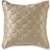 "Barbara Barry Glamour 18"" Square Toss Pillow - Golden Hills"