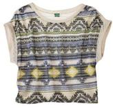 Junior's Tribal Printed Sweater