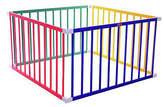 Liberty House Toys TikkTokk Boss Playpen Square Colours