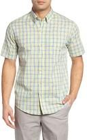 Cutter & Buck Men's Big & Tall Luis Rey Regular Fit Plaid Sport Shirt