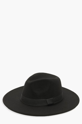 boohoo Tape Detail Fedora Hat