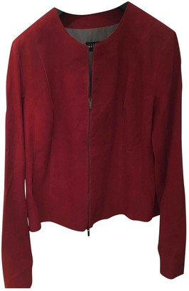 Fratelli Rossetti Red Leather Jackets