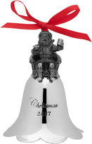 Mikasa Wallace® 2017 Annual Santa Bell Ornament 26th Edition