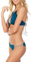 Koa Swim Sahara Reversible Braided Bikini Bottom Fiji/bare