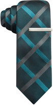 Alfani Holland Grid Skinny Tie, Only at Macy's