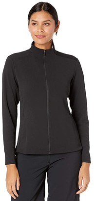 Nike Dry UV Victory Jacket Full Zip (Black/Black) Women's Clothing