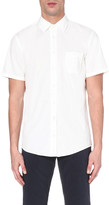 HUGO BOSS Slim-fit short-sleeved shirt