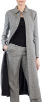 Akris Reversible Long Wool-Blend Coat