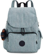 Kipling Ravier Medium Denim Backpack