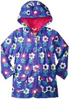 Hatley Nordic Flowers Raincoat (Toddler/Kid) - Purple - 3
