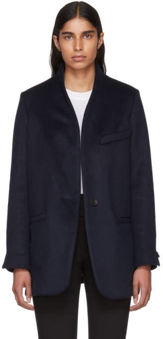 Isabel Marant Navy Felis Coat