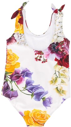 Dolce & Gabbana Kids Floral Print Swimsuit