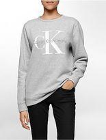 Calvin Klein Womens Vintage Logo Sweatshirt