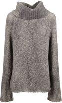 F Cashmere Turtleneck Sweater