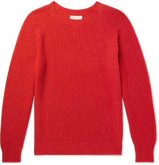 Tempus Now Colour-Block Cashmere And Wool-Blend Sweater