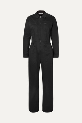 L.F.Markey - Danny Cotton-blend Jumpsuit - Black