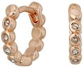 Vince Camuto Studded Mini Hinge Huggie Earrings