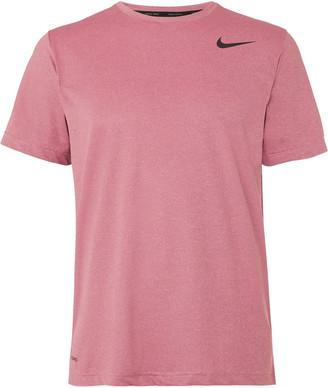 Nike Training - Pro Dri-FIT Stretch-Jersey T-Shirt - Men - Burgundy