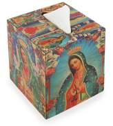 Decoupage square tissue box, 'My Guadalupe'