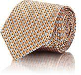 Brioni Men's Dot-Woven Silk Necktie