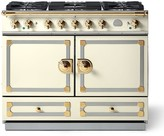 Williams-Sonoma Williams Sonoma Cornue Fe CornuFé Dual-Fuel Range Stove, Blanc