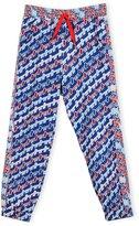 Kenzo Baya Abstract Track Pants, Royal, Size 14-16