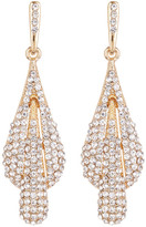 Natasha Accessories Crystal Drop Earrings