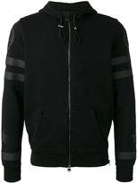 Hydrogen back print zip hoodie