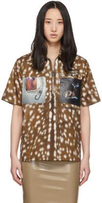 Burberry Brown Bambi Shirt