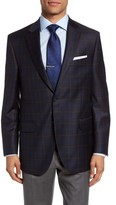 Peter Millar Men's Flynn Classic Fit Plaid Wool Sport Coat
