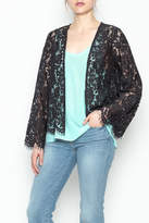 Chaser Lace Open Cardigan