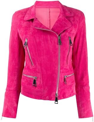 Sylvie Schimmel Metro cropped biker jacket