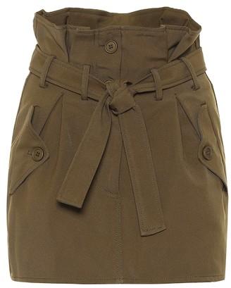 ATTICO Paperbag miniskirt