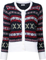Coohem Fair Isle cardigan - women - Cotton/Acrylic/Nylon/Wool - 38