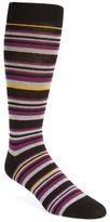 Ted Baker Men's Thin Stripe Crew Socks