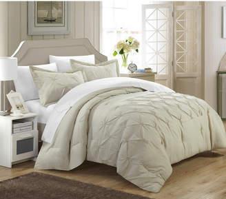 Chic Home Veronica 3 Pc King Duvet Cover Set Bedding