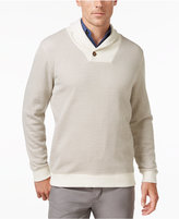Tasso Elba Men's Shawl Collar Pullover, Only at Macy's