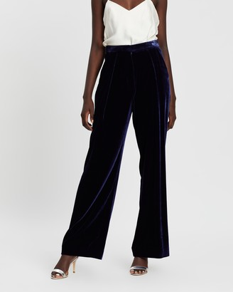 Michael Lo Sordo Relaxed Velvet Lounge Pants