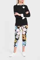Thom Browne Flower Printed Trousers
