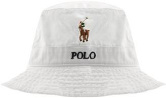 Ralph Lauren Polo Bucket Hat White