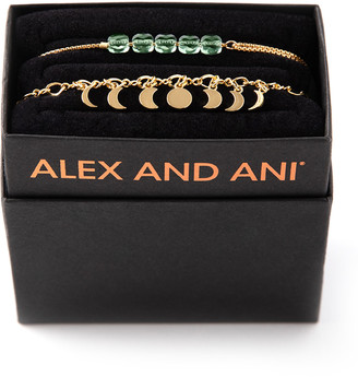 Alex and Ani Lunar Phase Bracelet Gift Set, Gold