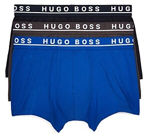 BOSS Cotton Stretch Trunks - Pack of 3