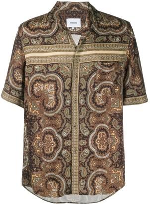 Nanushka Ville bandana-print shirt