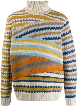 Missoni striped pattern jumper