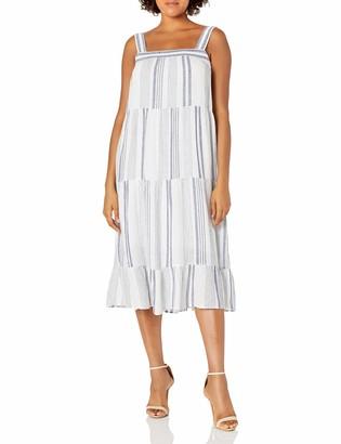 Rails Women's Amaya Dresden Stripe Long Dress Large