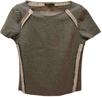 Maje Grey Wool Top for Women