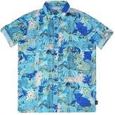 Marc Jacobs Child Boys Tiger Print Shirt