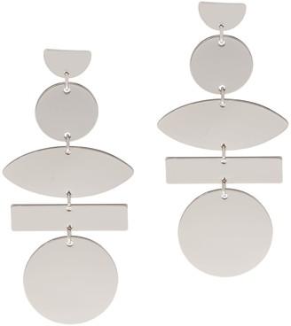 Susan Graver Geometric Dangle Earrings
