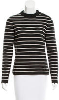 Celine Striped Cashmere Sweater